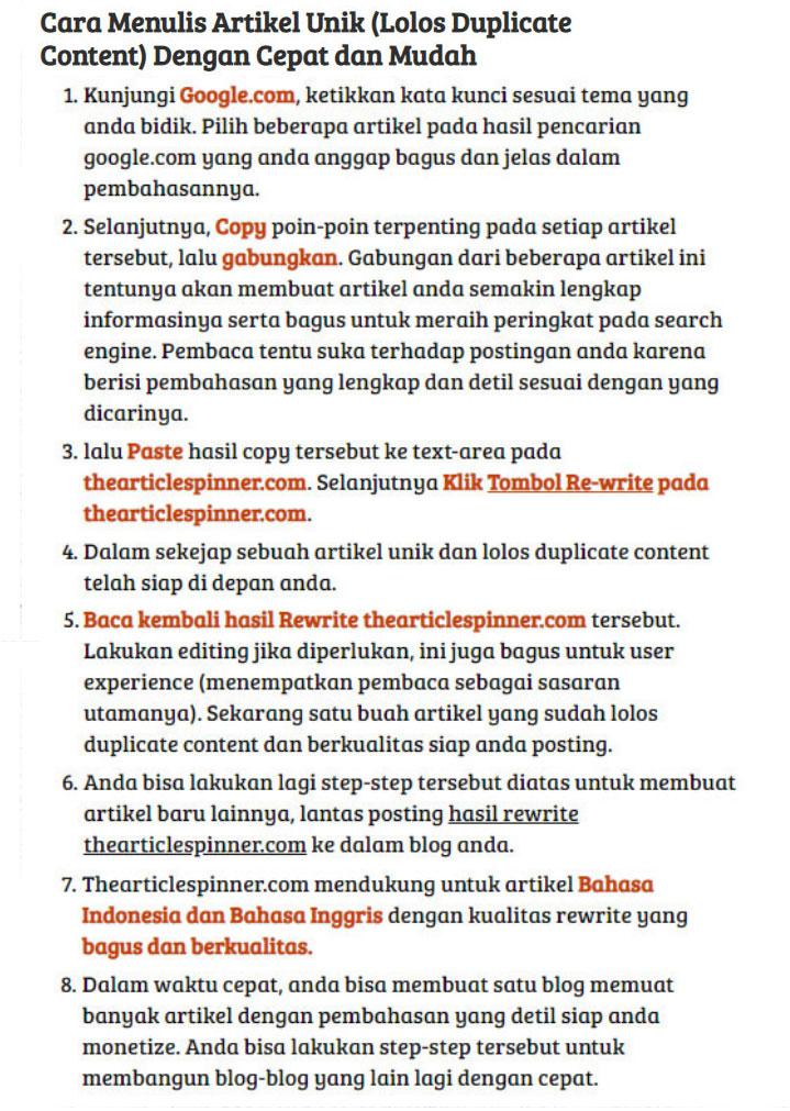 Cara Menulis Artikel di Google untuk Blog