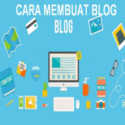 Cara Membuat Blog di Blogspot dan Wordpress Gratis