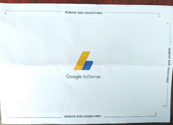 pin google adsense tidak diterima